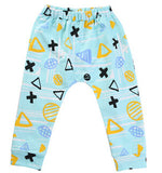4 colors Toddler Clothing,100%Cotton Children Pants Kids Girls & Boys Harem Pants Trousers With High Waist