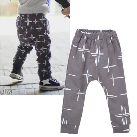 Toddler Kids Baby Boys Harem Pants PP Pants Children Thick Warm Bottoms Fleece Pants Trousers