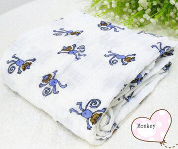 Baby Swaddling Blanket Newborn Infant 100% Cotton