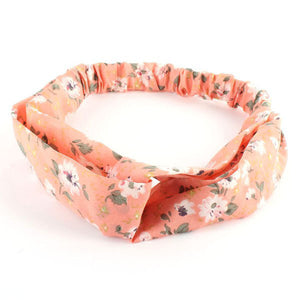Floral Twisted Knotted Hair Band Headband