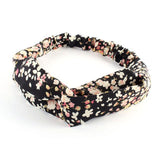 Floral Twisted Knotted Headband