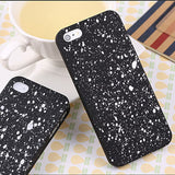 Robotsky Newest Fashion Luxury 3D Cover Three-dimensional Stars Ultrathin Frosted Phone Cases for iPhone SE 5 5s - Honeybee Line - 7