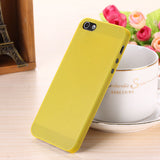 Translucent slim Soft plastic for iPhone Phone case 5 5S - Honeybee Line - 10