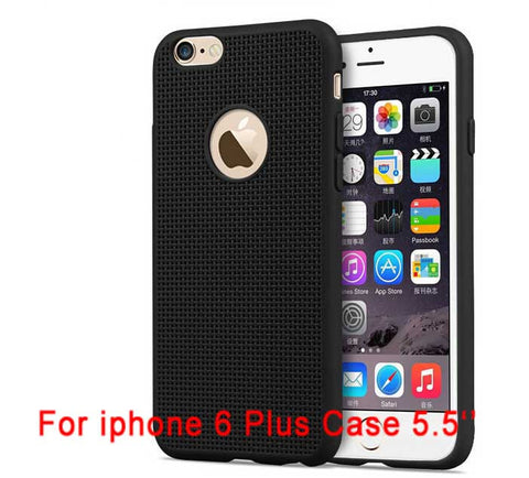 Ultra Thin Super Cute  Fashion Grid Phone Cases For iPhone 6 Case - Honeybee Line - 9