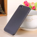 Translucent slim Soft plastic for iPhone Phone case 5 5S - Honeybee Line - 5
