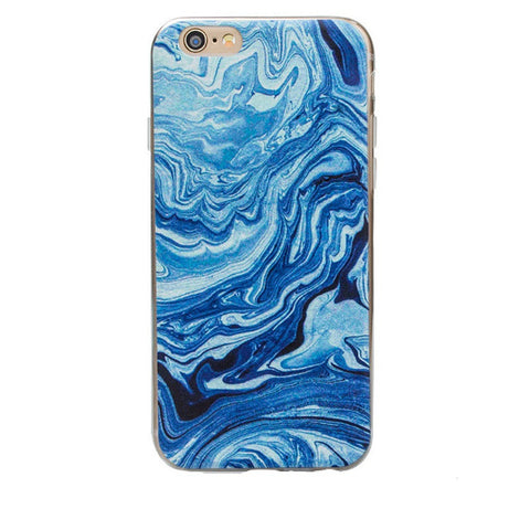 Phone cases Marble Painting Soft TPU Case Cover For iPhone 5 5S 6 6plus cell phone case accessories - Honeybee Line - 8