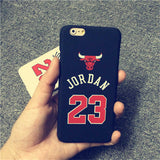 Jordan Chicago Bulls Case for iPhone 5 5s 6 6 Plus - Honeybee Line