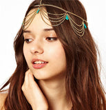 Bindi hair accesories Boho Headband - Honeybee Line - 2