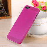 Translucent slim Soft plastic for iPhone Phone case 5 5S - Honeybee Line - 3