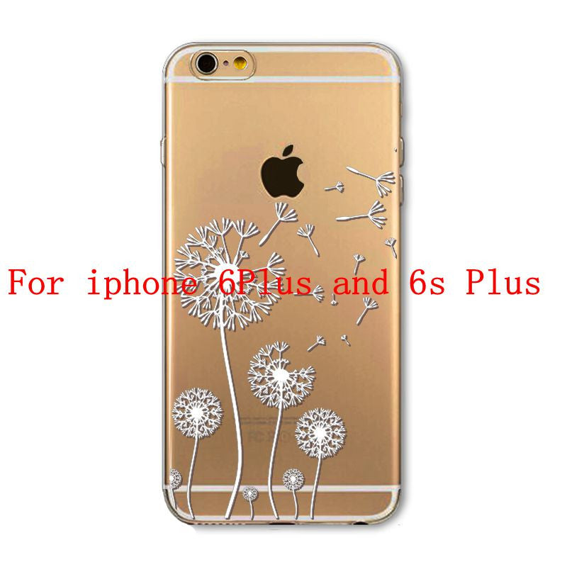 Phone Cases for Apple iPhone 4 4S 5 5S SE 5C 6 6S 6Plus 6s Plus HENNA DREAM CATCHER Ethnic Tribal TPU Silicon Covers Capa Back - Honeybee Line - 12