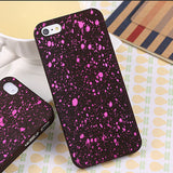 Robotsky Newest Fashion Luxury 3D Cover Three-dimensional Stars Ultrathin Frosted Phone Cases for iPhone SE 5 5s - Honeybee Line - 3