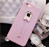 Bling Phone Cases Cover For iPhone 5 5s 6 6 - Honeybee Line - 15