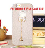 Bling Phone Cases Cover For iPhone 5 5s 6 6 - Honeybee Line - 9