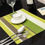 Waterproof Placemats Kitchen Dining Table - Honeybee Line - 3