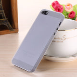 Translucent slim Soft plastic for iPhone Phone case 5 5S - Honeybee Line - 2