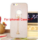 Bling Phone Cases Cover For iPhone 5 5s 6 6 - Honeybee Line - 5