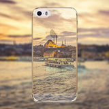 Phone Case Cover for Apple iphone 4 4s Mountain Ocean Eiffel Tower painted Soft Sillicon Transparent TPU Mobile Phone Bags Back - Honeybee Line - 14
