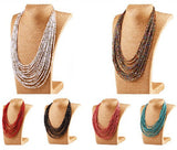 Beads Multil Necklaces