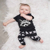 Gary Fox t shirt +pants 2pcs/set  Baby Clothing