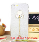 Bling Phone Cases Cover For iPhone 5 5s 6 6 - Honeybee Line - 3