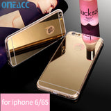Mirror Electroplating Dirt-resistant  iphone 6 / 6S 4.7 Cases - Honeybee Line - 1