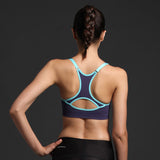 Sexy Girls and Woman Adjustable Strap Push Up Bra for Yoga Gym Fitness Patchwork Tops For Girls and Woman Adjustable Strap Bra