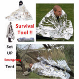 Camping Portable Emergency Blanket First Aid Survival Rescue - Honeybee Line