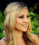 Bindi hair accesories Boho Headband - Honeybee Line - 9