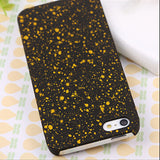 Robotsky Newest Fashion Luxury 3D Cover Three-dimensional Stars Ultrathin Frosted Phone Cases for iPhone SE 5 5s - Honeybee Line - 10