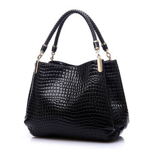 Alligator Leather Handbag - Honeybee Line