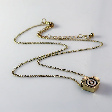 New Arrival! New Design Lucky Heart Evil Eyes & Lucky Hamsa Hand Pendant Necklace - Honeybee Line - 2