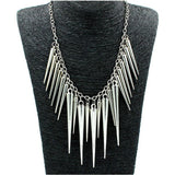 Collier choker long big Vintage feather Necklaces - Honeybee Line - 3