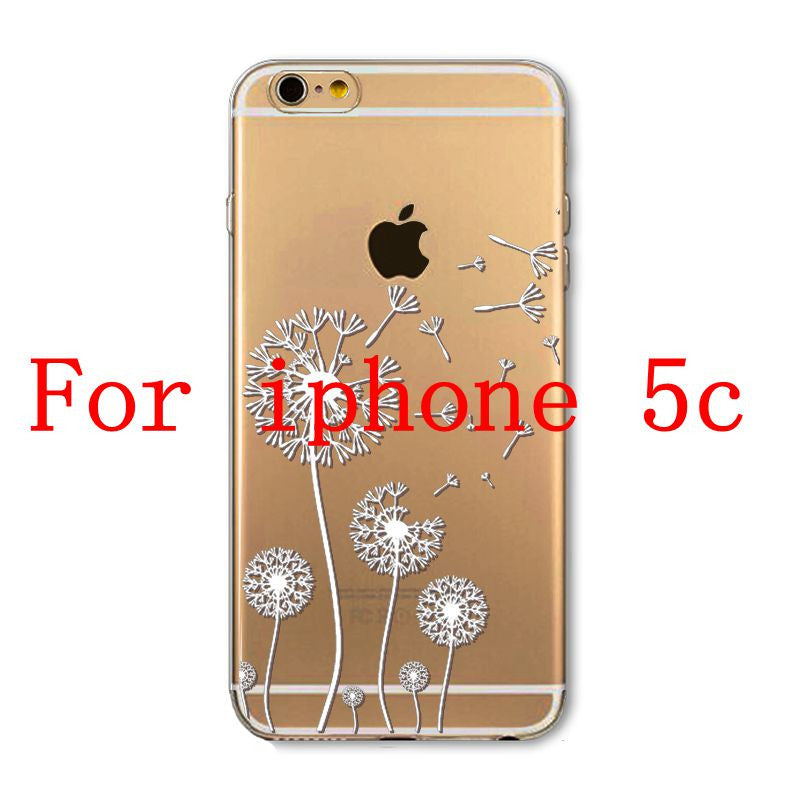 Phone Cases for Apple iPhone 4 4S 5 5S SE 5C 6 6S 6Plus 6s Plus HENNA DREAM CATCHER Ethnic Tribal TPU Silicon Covers Capa Back - Honeybee Line - 14