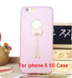 Bling Phone Cases Cover For iPhone 5 5s 6 6 - Honeybee Line - 13