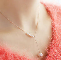 Luxury Imitation Pearl Necklace - Honeybee Line
