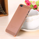 Translucent slim Soft plastic for iPhone Phone case 5 5S - Honeybee Line - 8