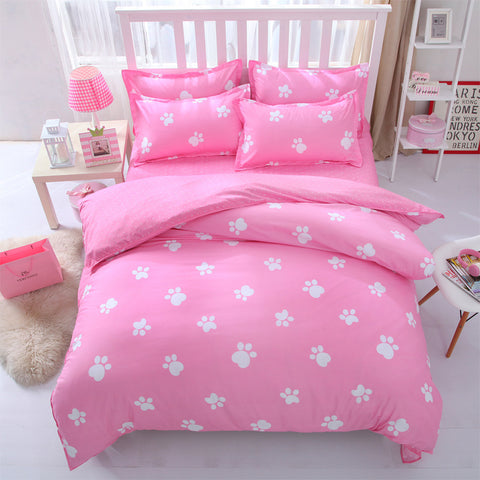 Victoria Secret Pink King Queen Single Size   Bed Linen Bedding Sets  Bedclothes Duvet Cover Bed