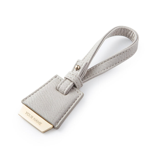 Nik Bag Tag - Light Gray