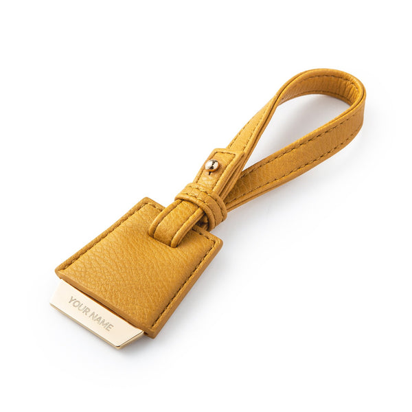 Nik Bag Tag - Mustard