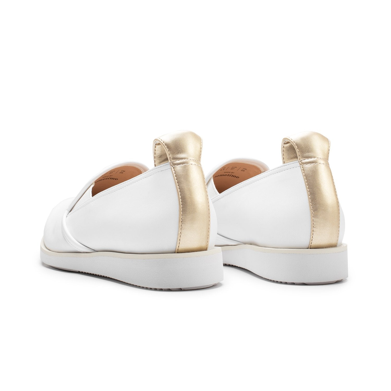 BASKETS - WHITE/GOLD