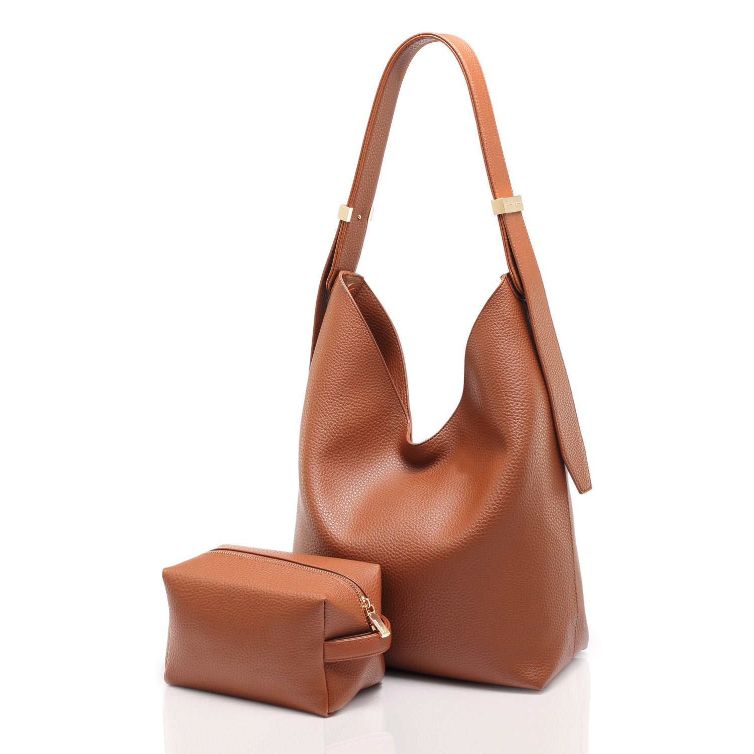 RIBAG HOBO - BROWN