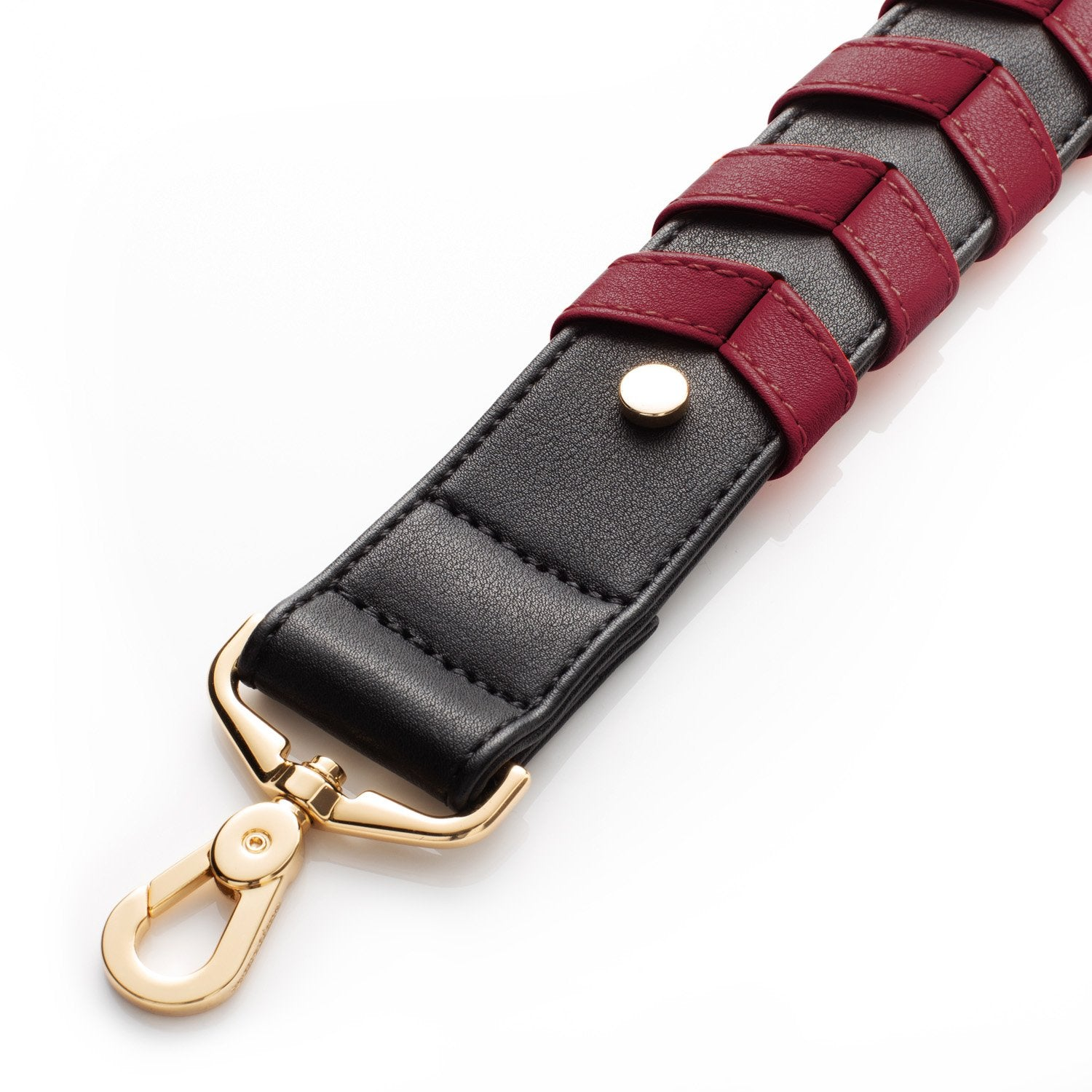 BRAIDED STRAP - MAROON