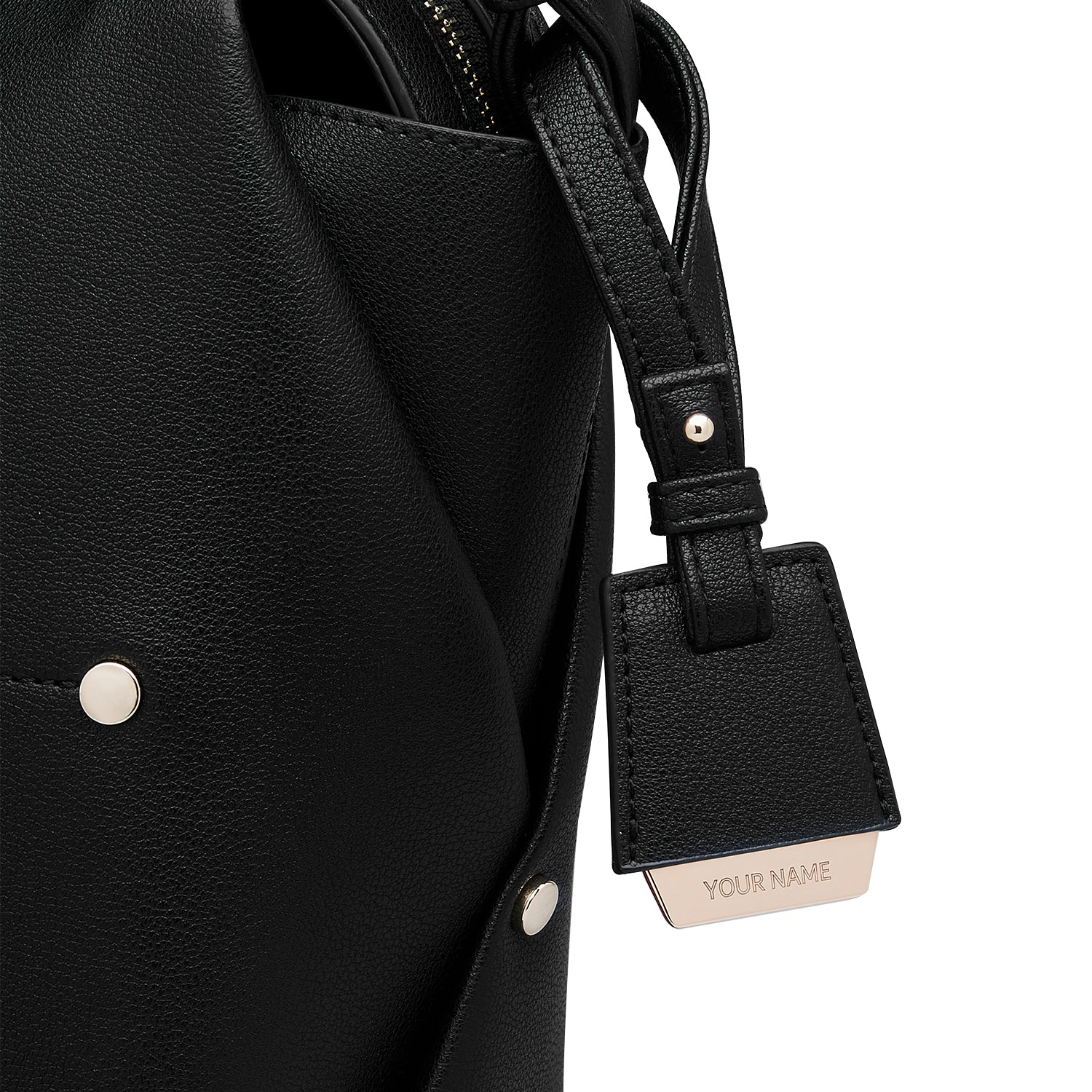 COLEY BAG TAG - BLACK