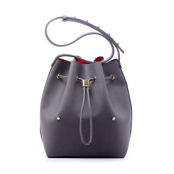 sometime niko niko bag charcoal front