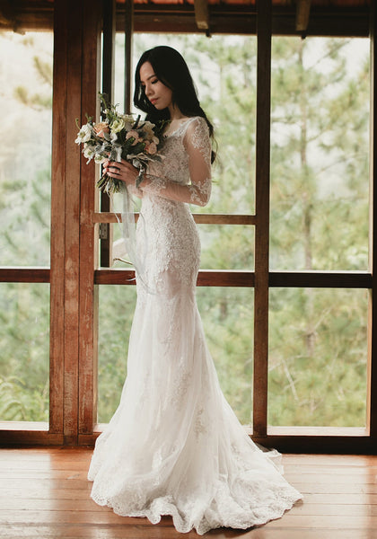 custom wedding dress Malaysia