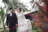 Custom made wedding dress Malaysia Dentelle Bridal