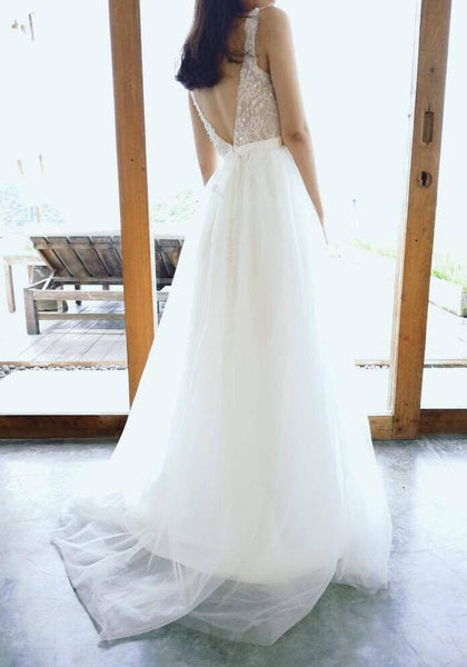 tailor made wedding dress
