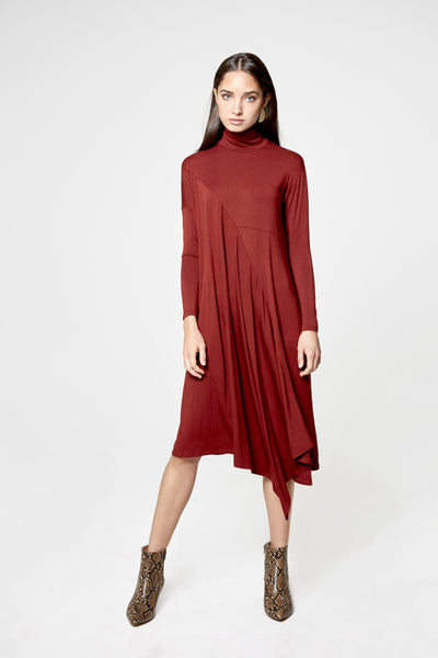 Swag Turtleneck Dress