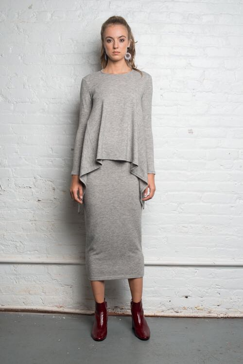 Sweater Midi Skirt