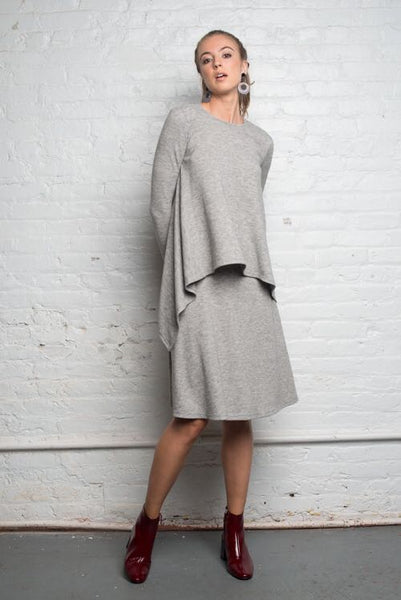 Sweater A-line Skirt